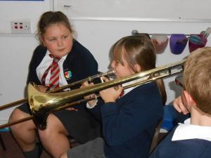 Natural brass player