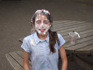 A Pie in the face