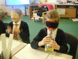Using our sense of smell and predicting skills